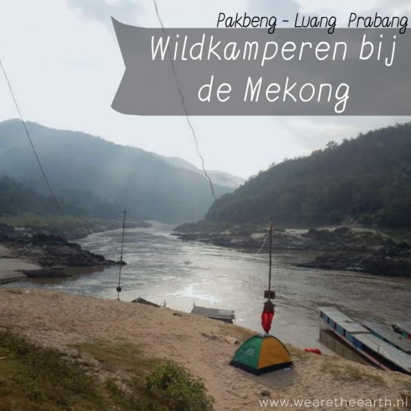 Wildkamperen bij de Mekong