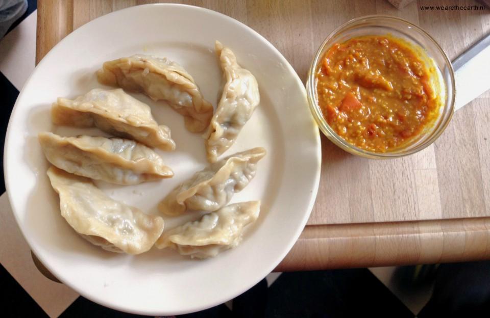 Nepaleese momo recept