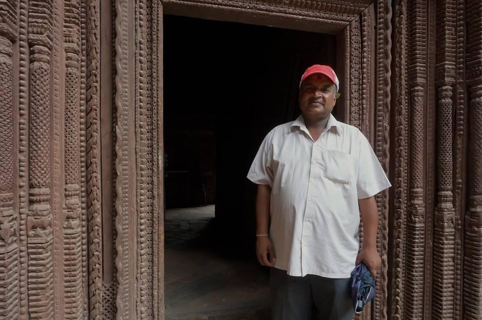 Ranjan guide Durbar Square