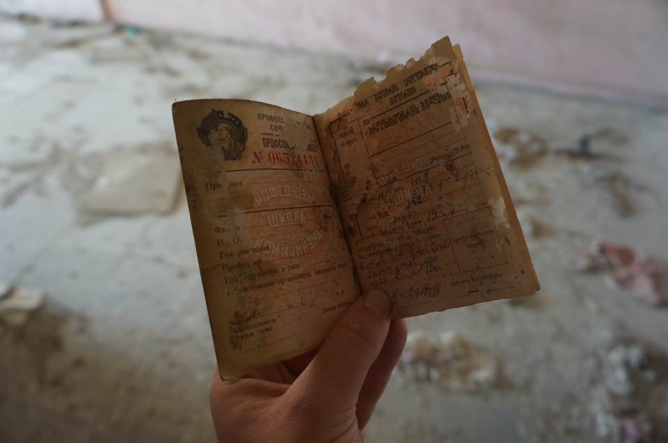 Urbexen Georgie paspoort