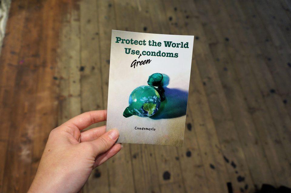 Concomerie, duurzame condooms